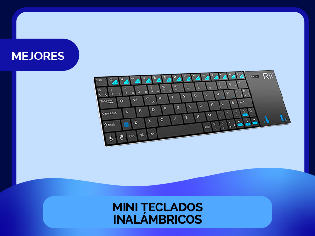 mini teclados inalambricos