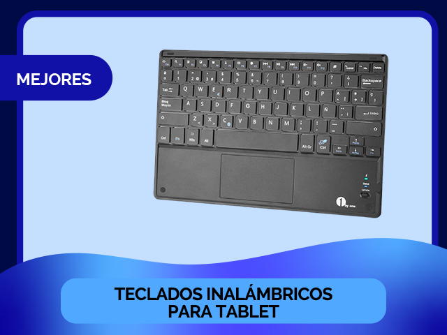 teclado inalambrico tablet